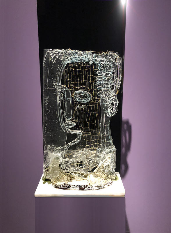Gerd Sonntag, glass, price 9800 eur, glas, 9800, sculpture, auction, art, kunst, künstler