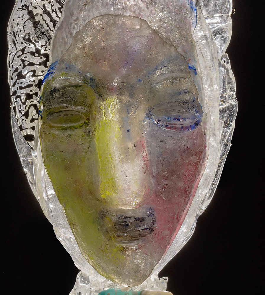 Gerd Sonntag, Glas, Skulptur, glass, sculpture, auction