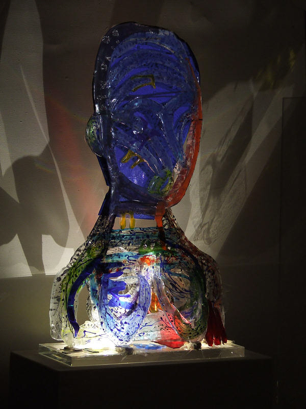Gerd Sonntag, Glas, Kunst, Künstler, glass, verre ,vidro, art, painter, Maler, tableau, sculpture